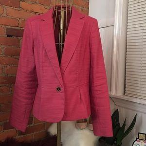 Ann Klein pink blazer